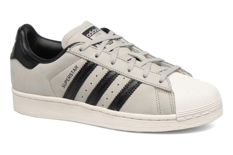 Baskets Adidas Originals Superstar Fashion J Gris vue détail/paire