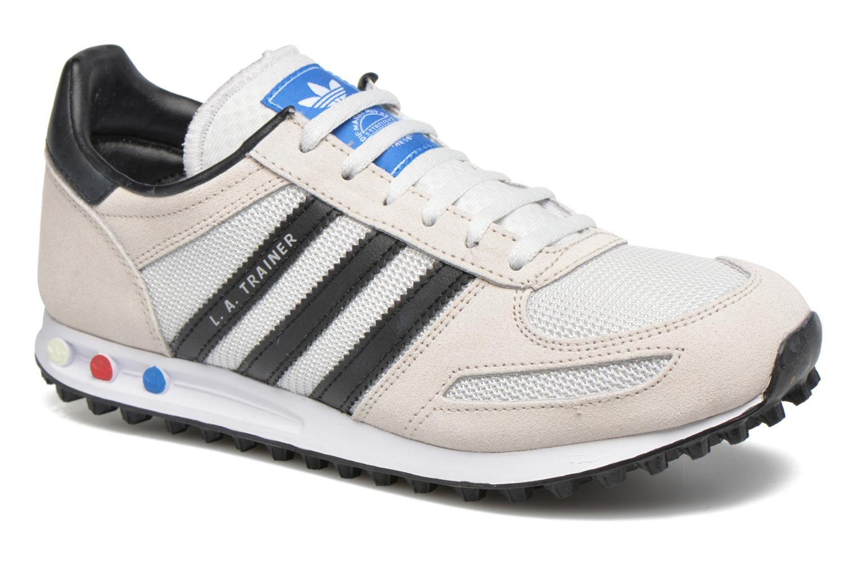 Sneakers Adidas Originals La Trainer J Beige detaljeret billede af skoene