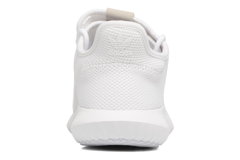 Sneaker Adidas Originals Tubular Shadow J weiß ansicht von rechts