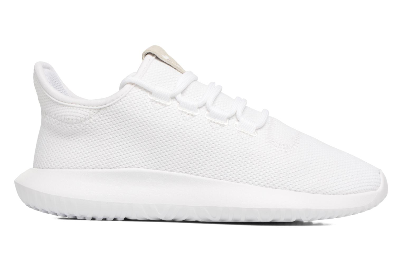 Baskets Adidas Originals Tubular Shadow J Blanc vue derrière