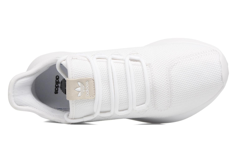 Sneaker Adidas Originals Tubular Shadow J weiß ansicht von links
