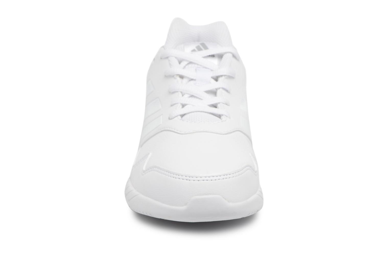 Sportschuhe Adidas Performance Altarun K weiß schuhe getragen