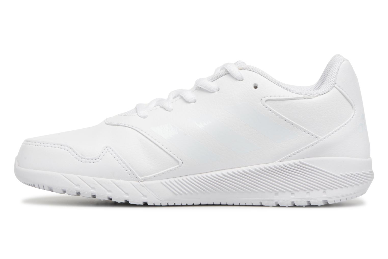 Sportschuhe Adidas Performance Altarun K weiß ansicht von vorne