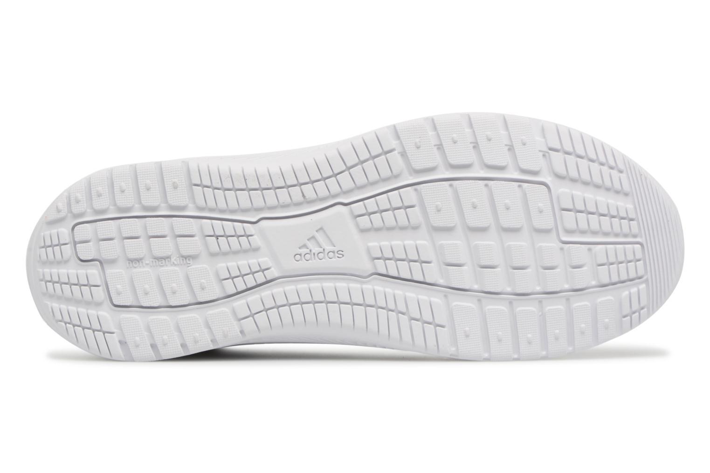 Chaussures de sport Adidas Performance Altarun K Blanc vue haut