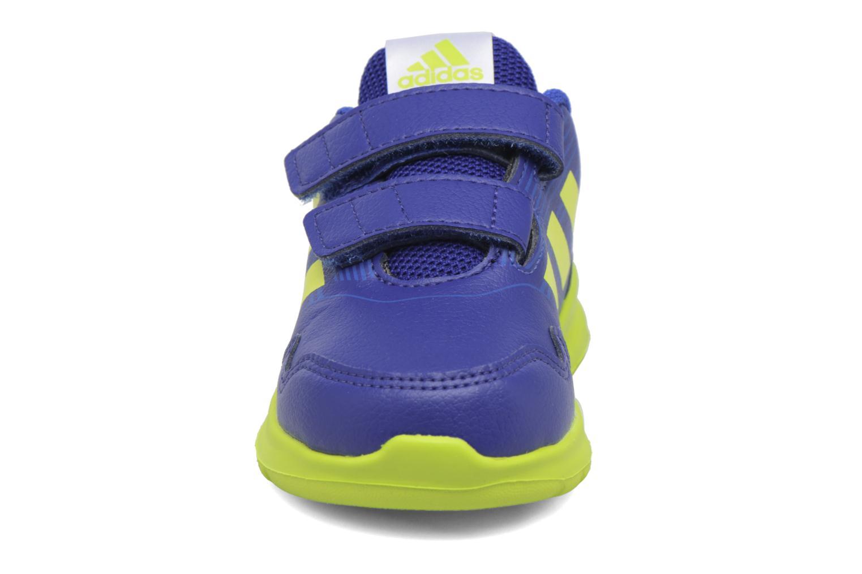 Baskets Adidas Performance Altarun Cf I Bleu vue portées chaussures