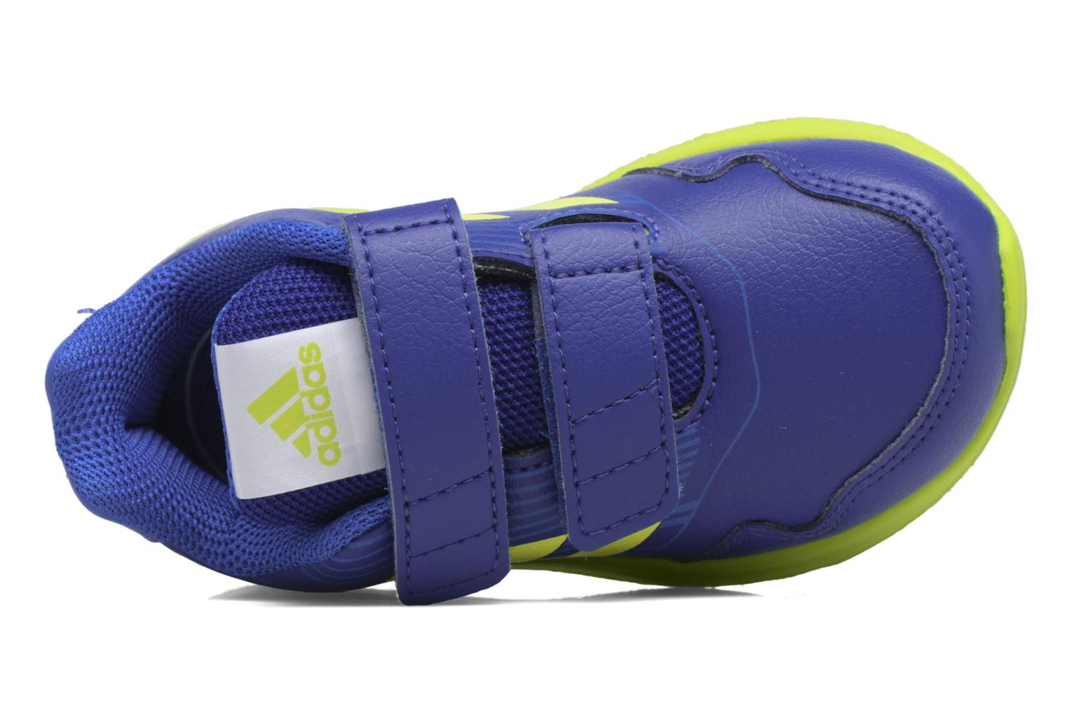 Trainers Adidas Performance Altarun Cf I Blue view from the left