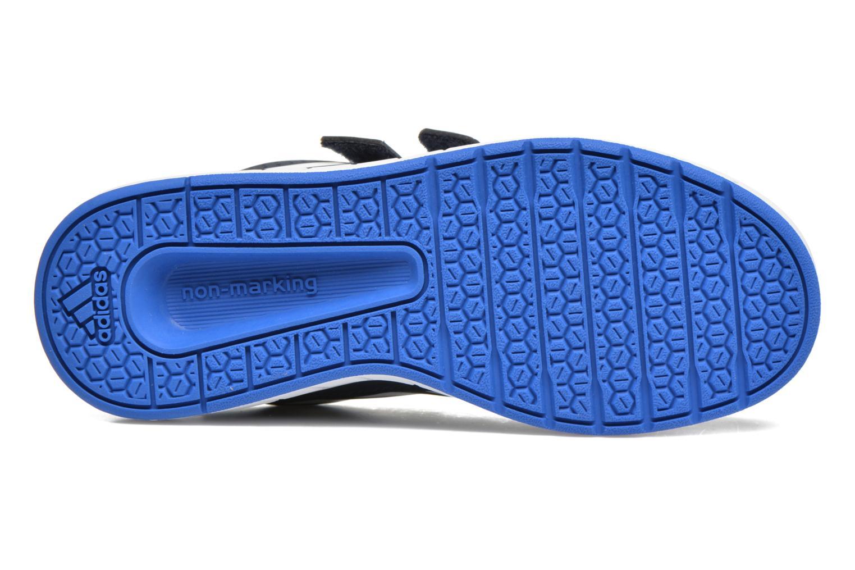 Baskets Adidas Performance Altasport Cf K Bleu vue haut