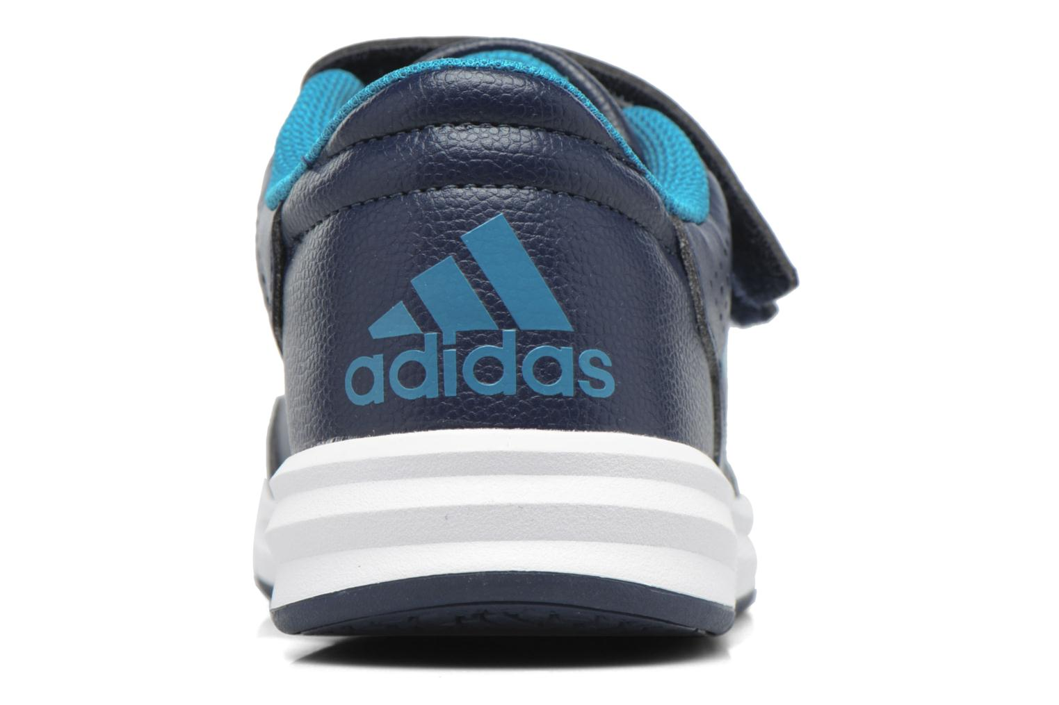 Trainers Adidas Performance Altasport Cf K Blue view from the right