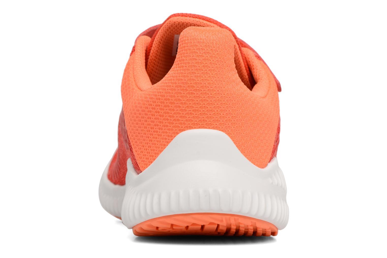 Sneaker Adidas Performance Fortarun Cf K orange ansicht von rechts