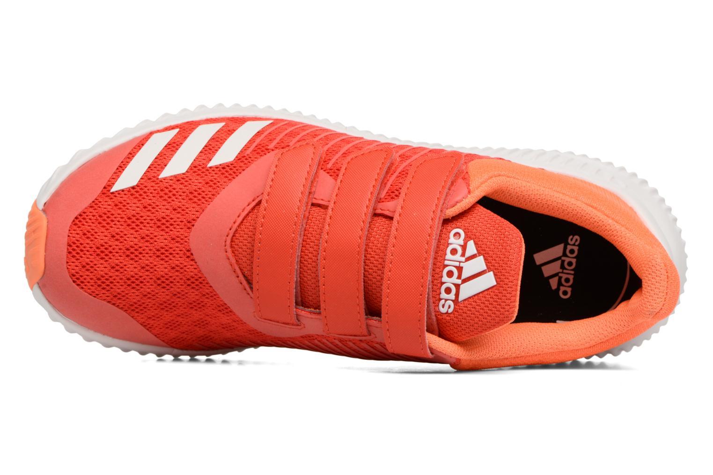 Sneaker Adidas Performance Fortarun Cf K orange ansicht von links