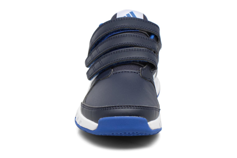 Baskets Adidas Performance Fortagym Cf K Bleu vue portées chaussures