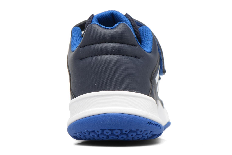 Baskets Adidas Performance Fortagym Cf K Bleu vue droite