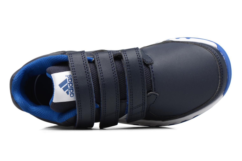 Baskets Adidas Performance Fortagym Cf K Bleu vue gauche