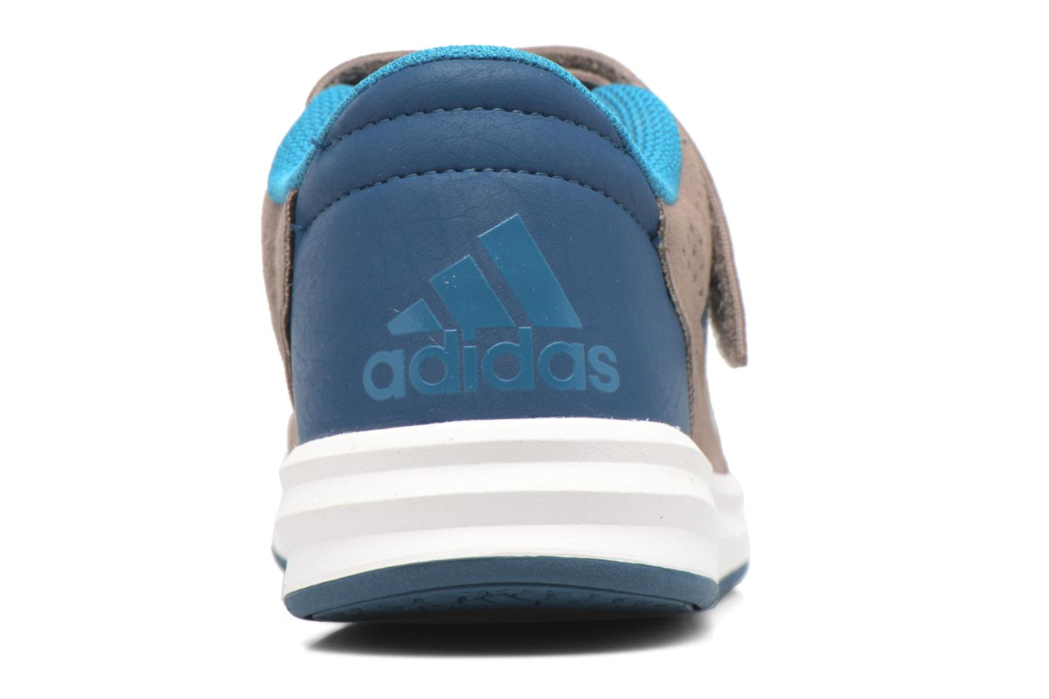 Trainers Adidas Performance Altasport El K Brown view from the right
