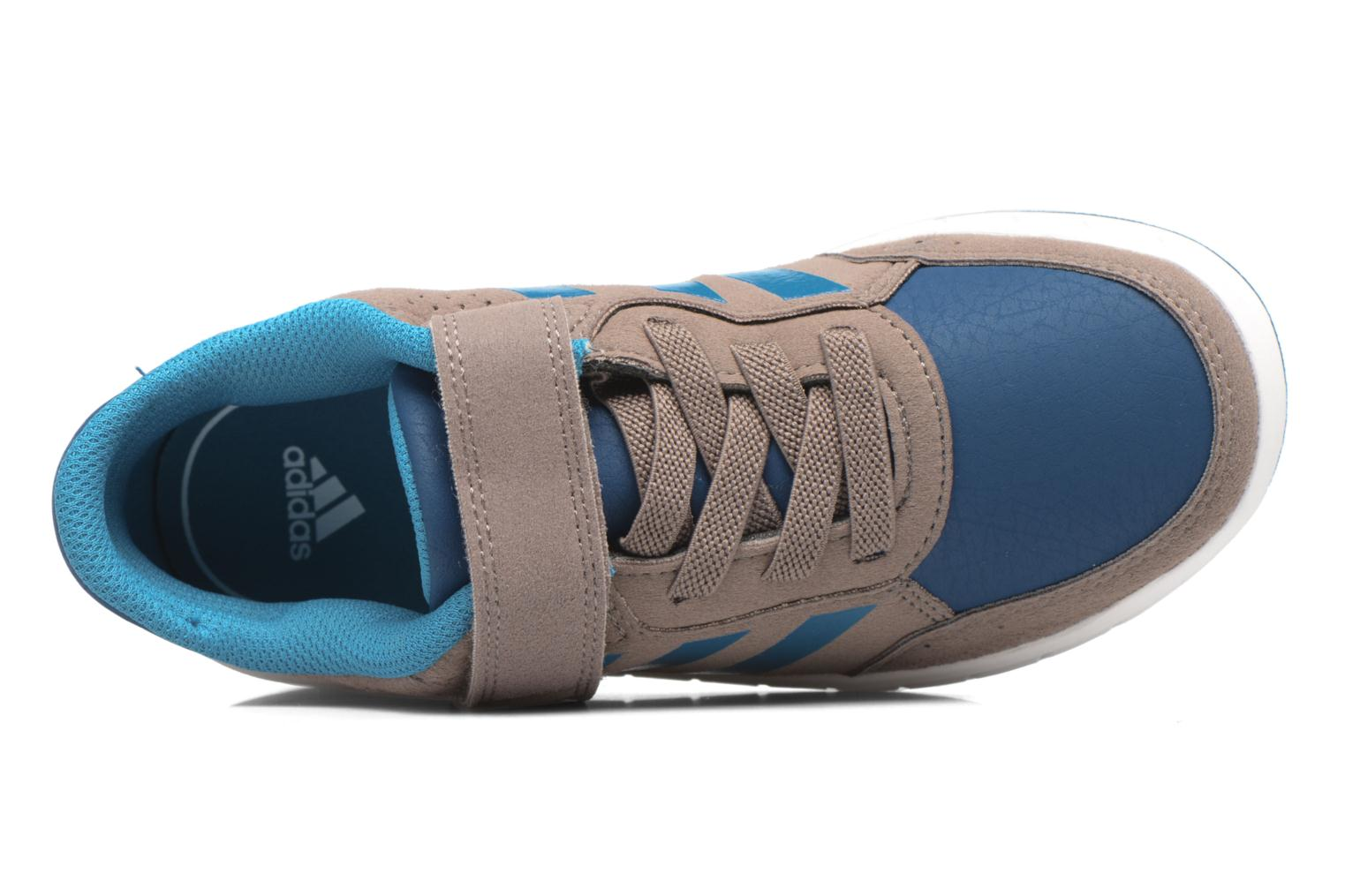 Trainers Adidas Performance Altasport El K Brown view from the left