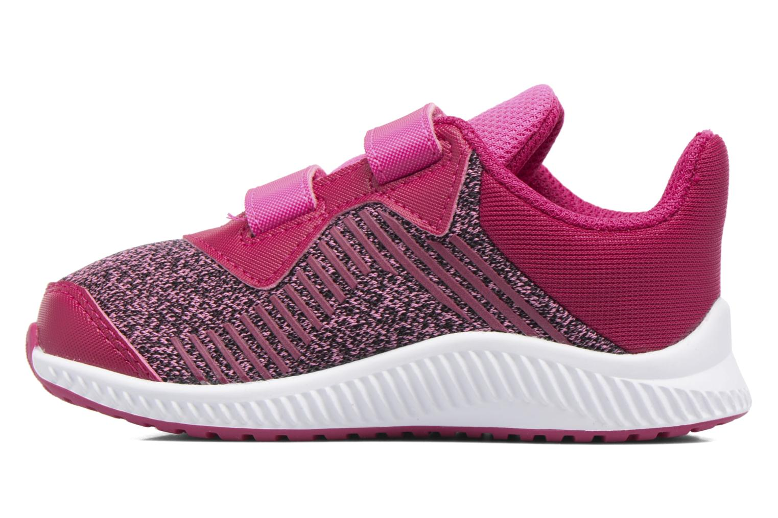 Baskets Adidas Performance Fortarun Cf I Rouge vue face
