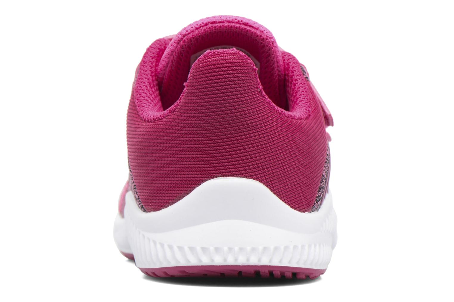 Baskets Adidas Performance Fortarun Cf I Rouge vue droite