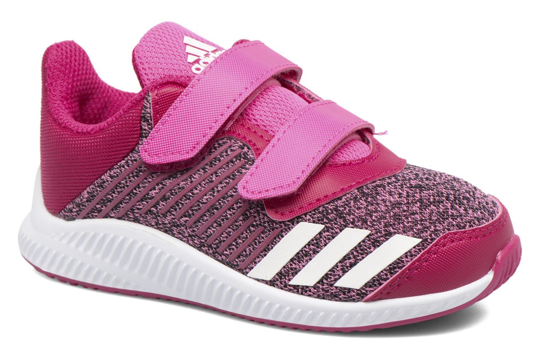 Baskets Adidas Performance Fortarun Cf I Rouge vue détail/paire