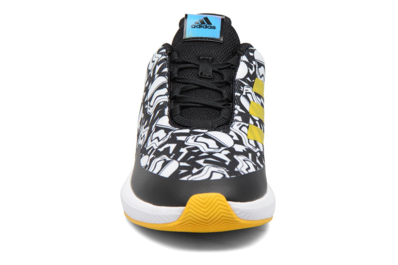 Baskets Adidas Performance Star Wars K Blanc vue portées chaussures