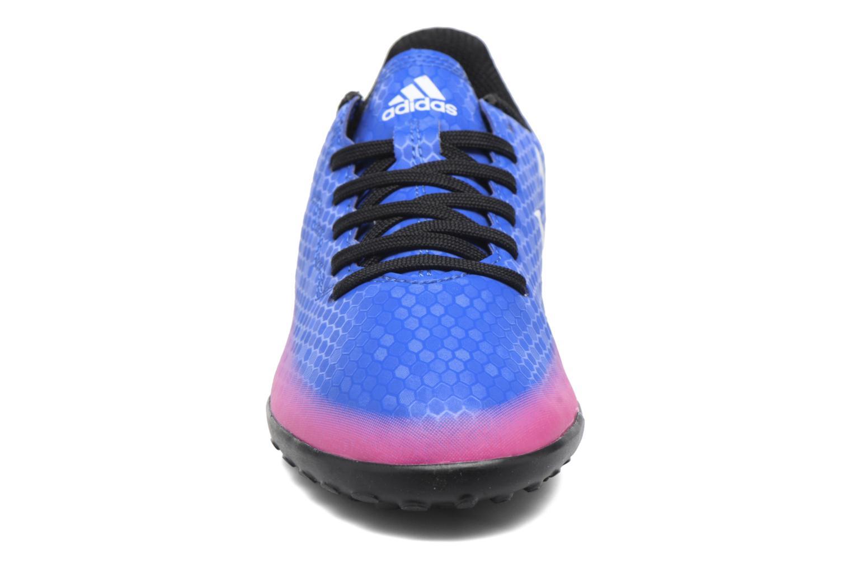 Baskets Adidas Performance Messi 16.4 Tf J Bleu vue portées chaussures