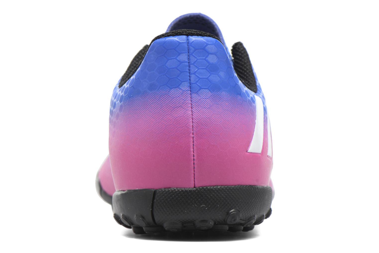 Baskets Adidas Performance Messi 16.4 Tf J Bleu vue droite