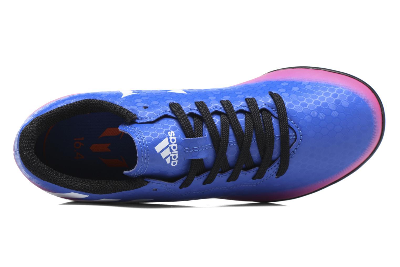 Baskets Adidas Performance Messi 16.4 Tf J Bleu vue gauche
