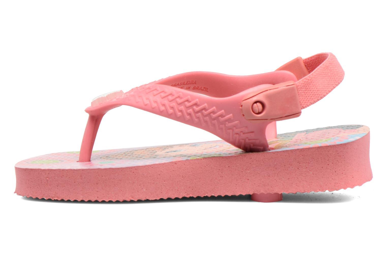 Sandales et nu-pieds Havaianas Baby Frozen Rose vue face