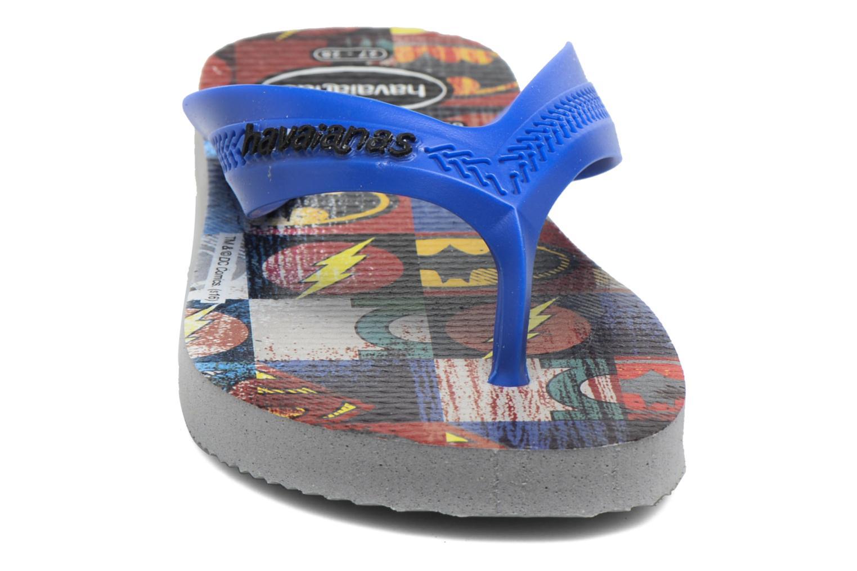 Flip flops Havaianas Kids Max Herois Grey model view