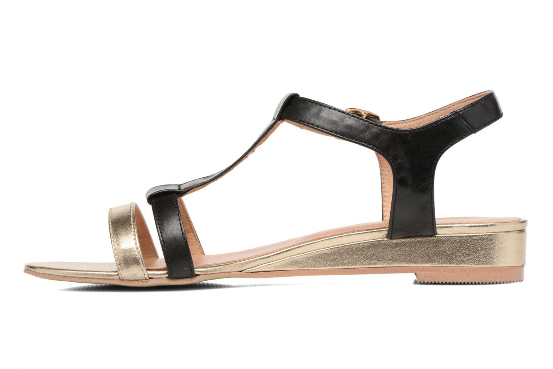 Sandales et nu-pieds Georgia Rose Tabilo Noir vue face