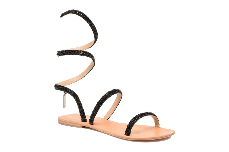 Sandales et nu-pieds Les Tropéziennes par M Belarbi Olga 2 Noir vue détail/paire