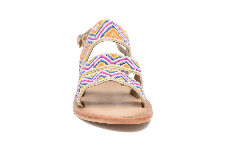 Sandales et nu-pieds Les Tropéziennes par M Belarbi Nomade Multicolore vue portées chaussures