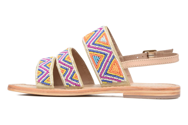 Sandales et nu-pieds Les Tropéziennes par M Belarbi Nomade Multicolore vue face