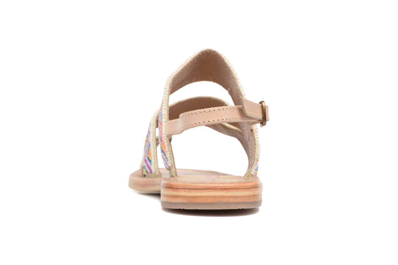 Sandales et nu-pieds Les Tropéziennes par M Belarbi Nomade Multicolore vue droite