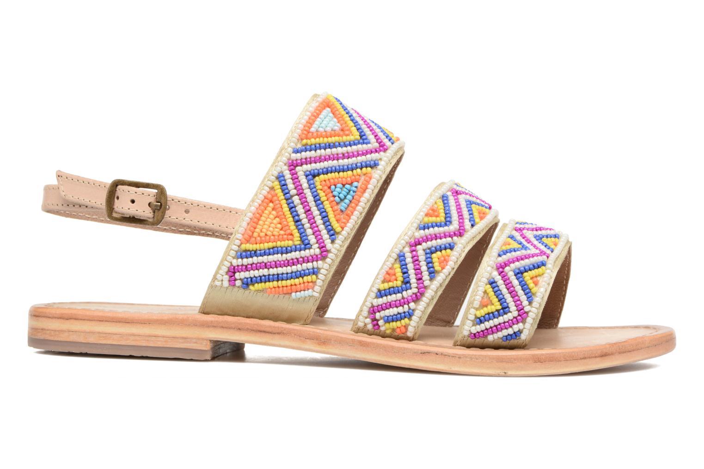 Sandales et nu-pieds Les Tropéziennes par M Belarbi Nomade Multicolore vue derrière