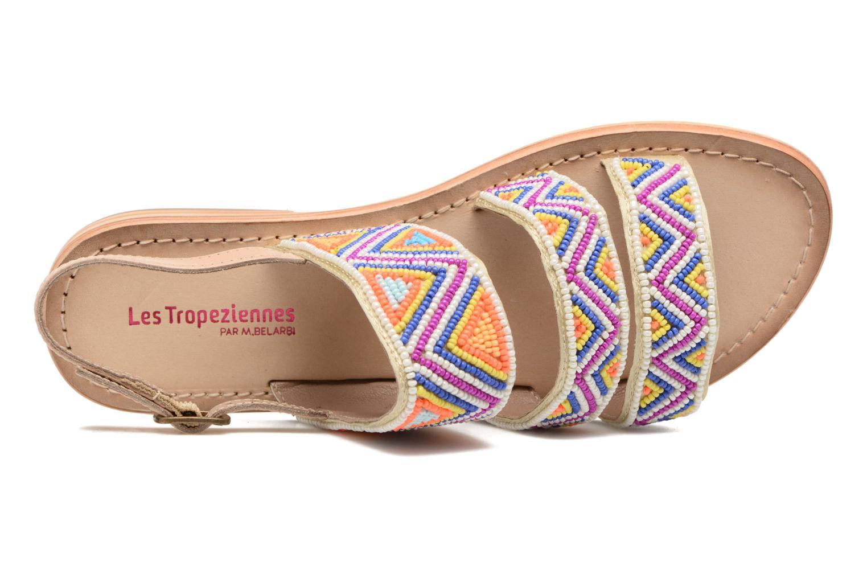 Sandales et nu-pieds Les Tropéziennes par M Belarbi Nomade Multicolore vue gauche