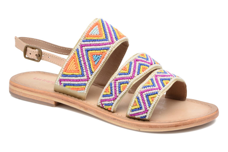 Sandales et nu-pieds Les Tropéziennes par M Belarbi Nomade Multicolore vue détail/paire