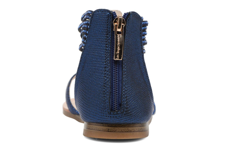 Sandales et nu-pieds Les Tropéziennes par M Belarbi Ginkgo Bleu vue droite