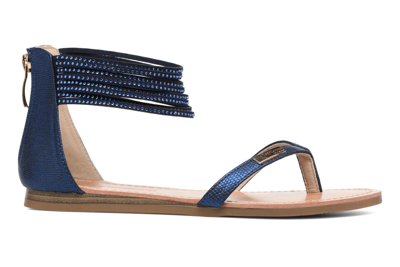 Sandales et nu-pieds Les Tropéziennes par M Belarbi Ginkgo Bleu vue derrière