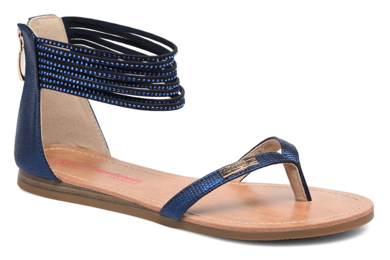 Sandales et nu-pieds Les Tropéziennes par M Belarbi Ginkgo Bleu vue détail/paire