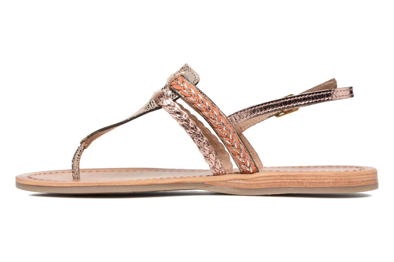 Sandali e scarpe aperte Les Tropéziennes par M Belarbi Baraka Oro e bronzo immagine frontale