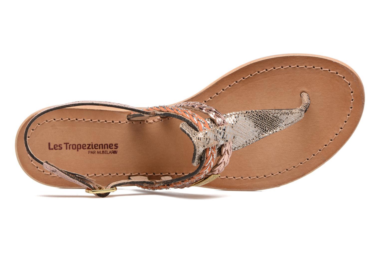 Sandali e scarpe aperte Les Tropéziennes par M Belarbi Baraka Oro e bronzo immagine sinistra