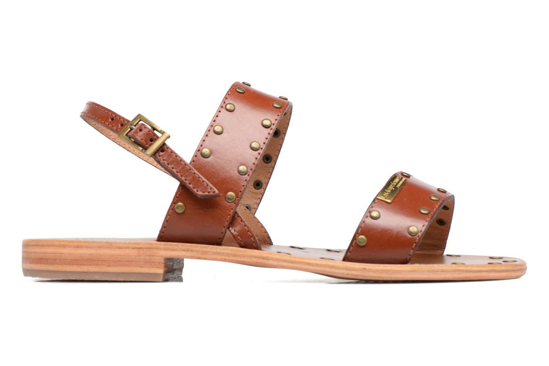 Sandales et nu-pieds Les Tropéziennes par M Belarbi Haude Marron vue derrière