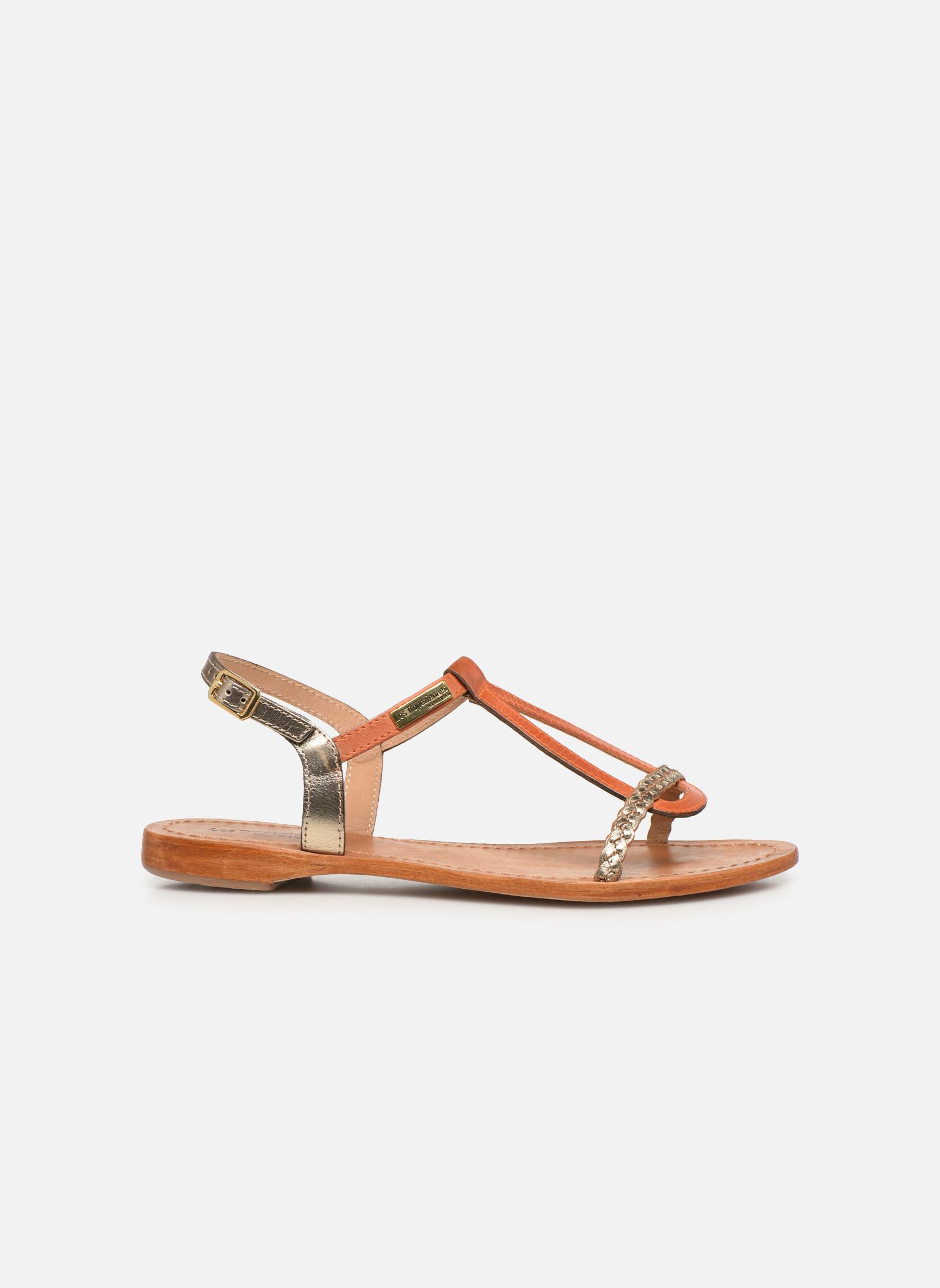 Sandales et nu-pieds Les Tropéziennes par M Belarbi Hatress Or et bronze vue derrière