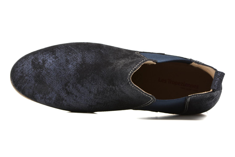 Bottines et boots Les Tropéziennes par M Belarbi Panama Bleu vue gauche