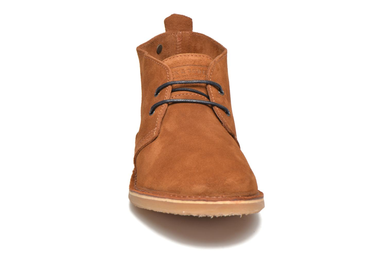 Bottines et boots Jack & Jones JFW Gobi Marron vue portées chaussures