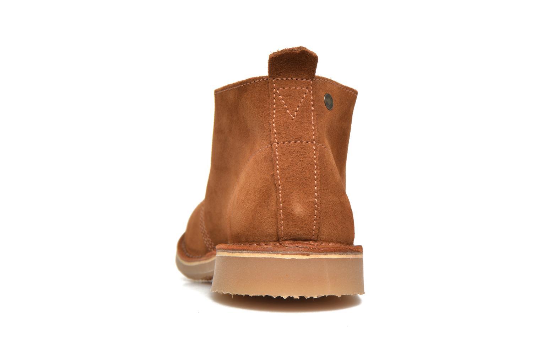 Bottines et boots Jack & Jones JFW Gobi Marron vue droite