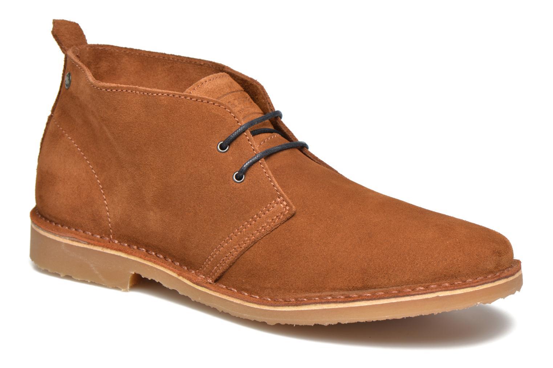 Bottines et boots Jack & Jones JFW Gobi Marron vue détail/paire