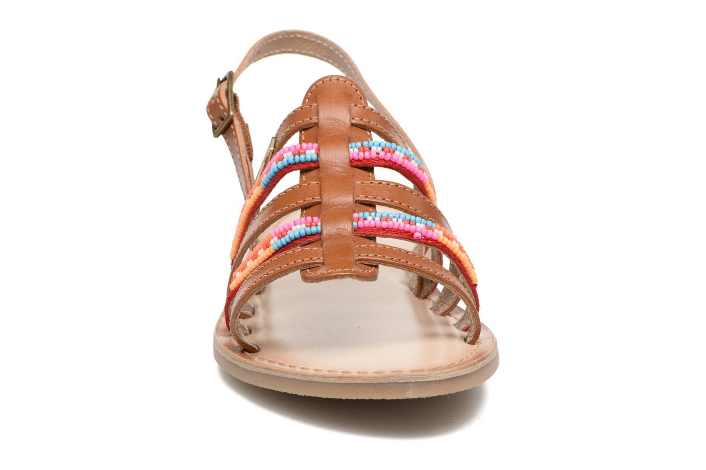 Sandales et nu-pieds Les Tropéziennes par M Belarbi Mango Marron vue portées chaussures