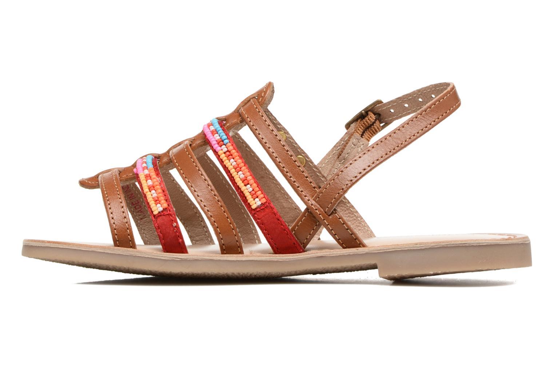 Sandales et nu-pieds Les Tropéziennes par M Belarbi Mango Marron vue face