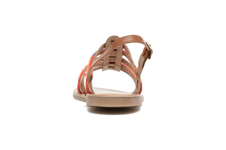 Sandales et nu-pieds Les Tropéziennes par M Belarbi Mango Marron vue droite